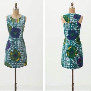 Anthropologie Vanessa Virginia Tiki Dress